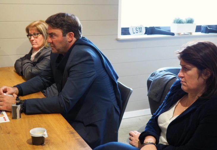 le Ministre Denis Ducarme était en visite dans les sections de Jurbise et Lens